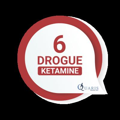 DROGUE TEST QUARIS 6 DROGUES KÉTAMINE